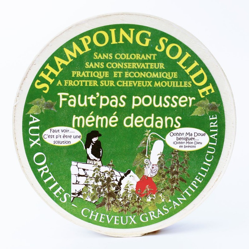 shampoing solide aux orties